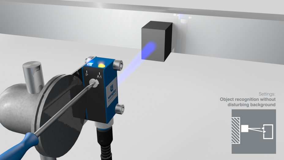 PNG//smart - Operating Instructions - 1K - Reflex Sensors with Background Suppression and Blue Light