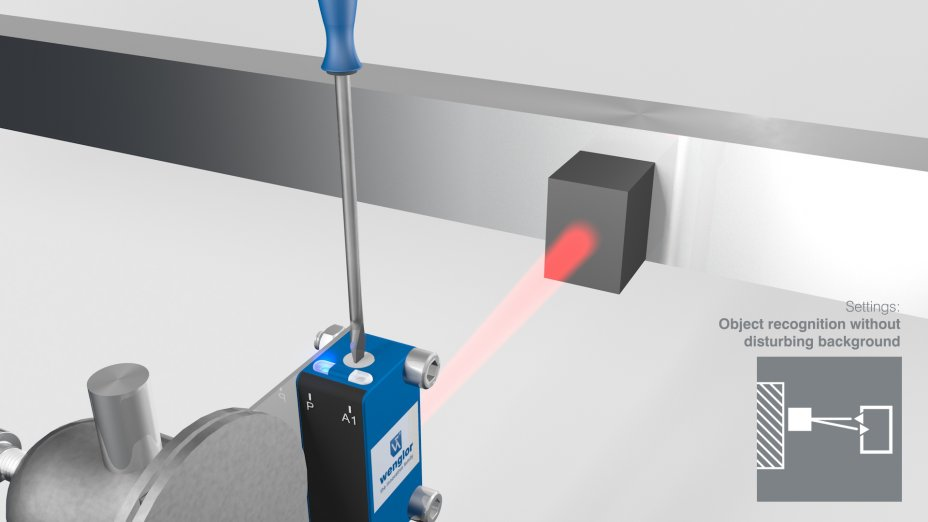 PNG//smart - Operating Instructions – Sensors with Background Suppression and Red Light (Multi-turn)