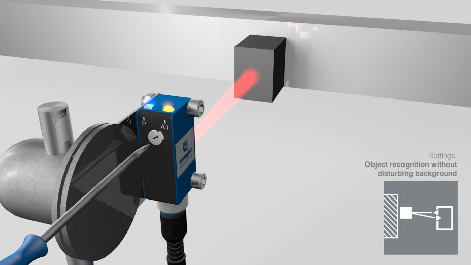 PNG//smart - Operating Instructions – Sensors with Background Suppression and Red Light
